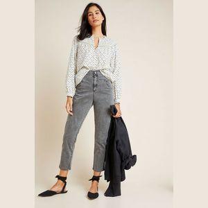 Amadi XL Lindy High-Rise Slim Straight Pants